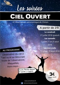 2018 Ciel ouvert red